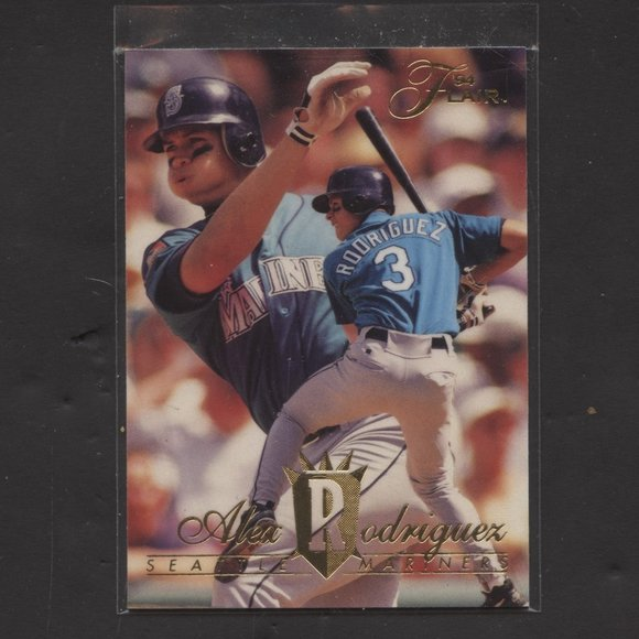 MLB Other - 1994 Flair Alex Rodriguez rookie # 340 Mariners